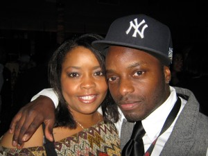 "Filmmakers Nicole Sylvester and Michael ""Boogie"" Pinckney"