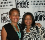 Filmmaker Nicole Sylvester (r) with multimedia powerhouse Dolly Turner