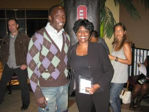 Actor Michael K. Williams and Filmmaker Olu Gittens at Urbanworld Film Festival 2010