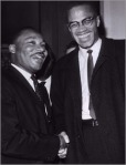 Dr. Martin Luther King and Malcolm X