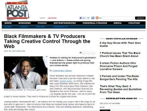 Black Filmmakers & TV Producers Taking Creative Control Through the Web