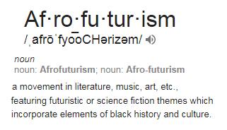 Afro-futurism definition