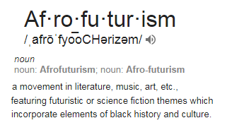 Afro-futurism definition